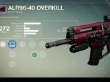 ALR96-40 Overkill