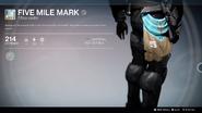 Five Mile Mark UI