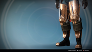 Kabr's Forceful Greaves (Year 3) (Ornament 2)