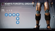 TTK Kabr's Forceful Greaves Overlay