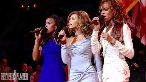 Destiny's Child - National Anthem Live at NBA All Star Game 2006 HD