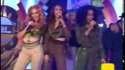 Destiny's Child - Soldier Live TRL 2004