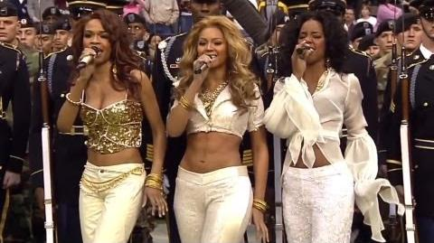 Destiny's Child - Lose My Breath & Soldier Live at NFL Thanksgiving 2004 Halftime Show