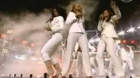 Destiny's Child Lose my breath live NFL