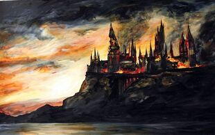 Hogwarts destroyed by bubblesjungle-d3c2vis