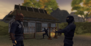 Black Ninja Leader with Ninja2