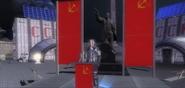 Cosmonaut Leonid on Stage