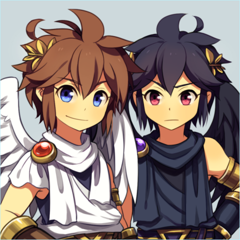 File:Pit and dark pit by wusagi2-d7jo4wq.png