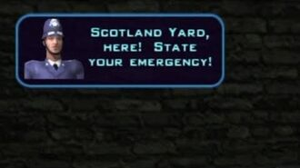 Destroy all Humans! 2 All Albion Police Phone Box Dialogue
