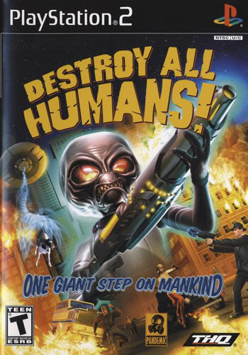 Destroy all humans cover