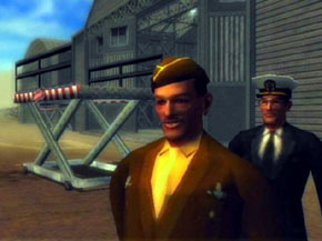 Generals at the Airfield