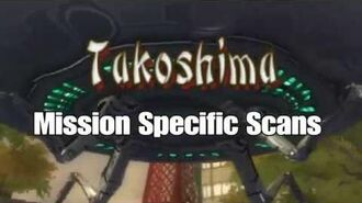 Destroy all Humans! 2 All Takoshima Mission Specific Scans