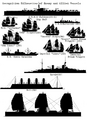 Recognition Silohuttes Allied and Enemy Vessels.png