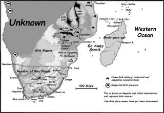 Map Africa Theater River of Bones