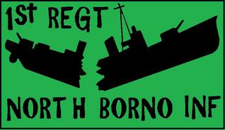 Flag of North Borno Regiment Konoshi