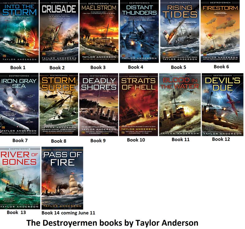 The Destroyermen Books