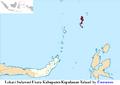 Lokasi Sulawesi Utara Kabupaten Kepulauan Talaud by Ewesewes.png