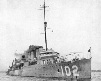 USS Mahan (DD-102)