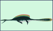 Finned Plesiosaur by Taylor Anderson