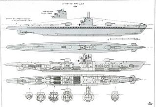 Type XI B U Boat