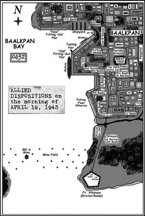Allied Positions Battle for Baalkpan