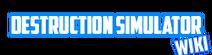 Destruction Simulator Wikia logo