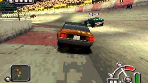 Destruction Derby Raw - Lighting gameplay-0