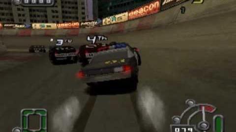 Destruction Derby Raw - Police gameplay