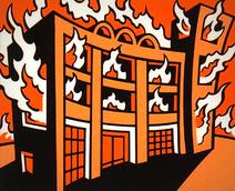 Incêndio na Escola Manchada