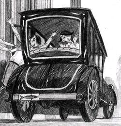 Carro do conde Olaf ICI
