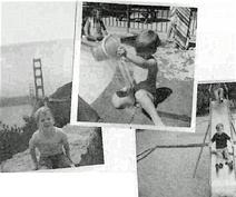 Snicket no playground, sendo observado pela C.S.C