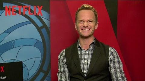 Neil Patrick Harris na Comic Con Experience - NetflixCCXP