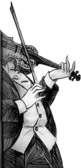 Vice-diretor Nero e seu violino