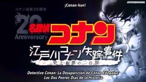 APTXFansub Trailer Especial 2h La desaparición de Conan Edogawa