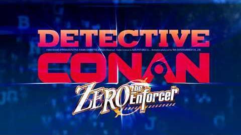 DETECTIVE CONAN ZERO THE ENFORCER - Tráiler Oficial VE