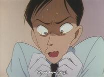 Misao scared
