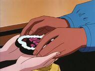 Sonoko Gives Makoto Her Chocolate