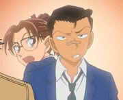 Young Kogoro and Eri