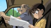 Agasa and Conan investigating