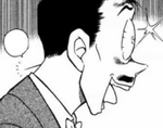 Kogoro is stunned