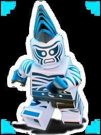 Lego Zebra Man