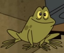 Froggy but not chair