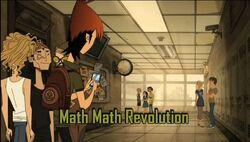 Math Math Revolution Tittlecard