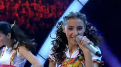 Junior Eurovision 2010 Malta - Nicole Azzopardi - Knock knock.. Boom! Boom!