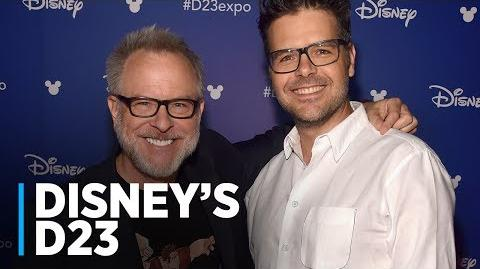 WRECK-IT RALPH 2 Rich Moore, Phil Johnston at Disney's D23 2017