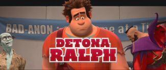Cartão de Título Detona Ralph