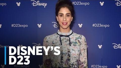 WRECK-IT RALPH 2 Sarah Silverman at Disney's D23 2017