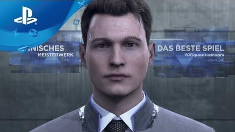 Detroit Become Human - Accolades Trailer PS4, deutsch