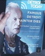 Famous Detroit Painter Dies
