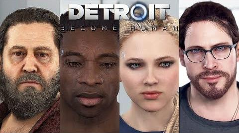 DETROIT BECOME HUMAN - ALL SHORTS Zlatko Luther Chloe Kamski @ 1080p HD ✔